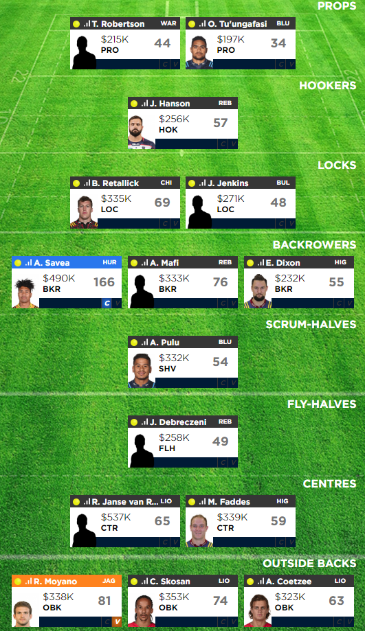 Week4 dream team