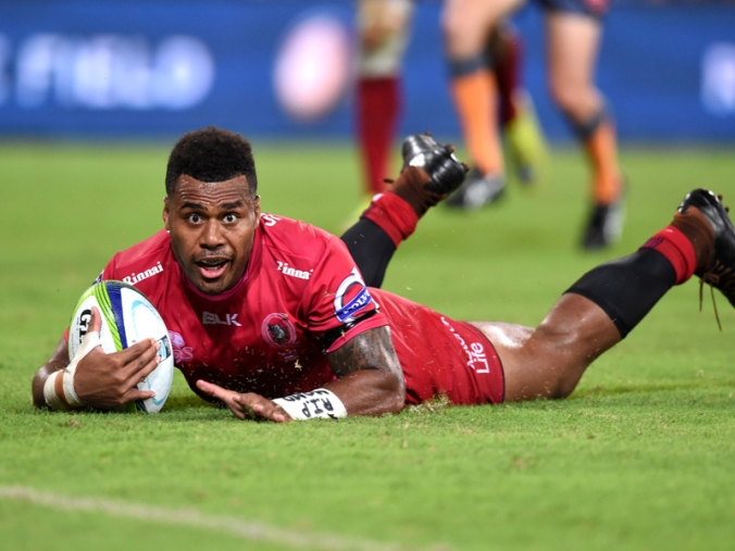 SUPER RUGBY REDS BLUES